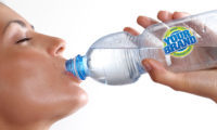 Your company logo on personalised private labelled water bottles